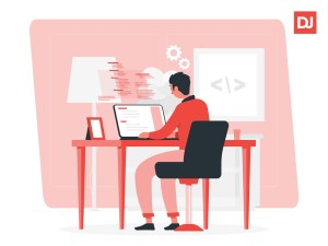 Productive remote developer
