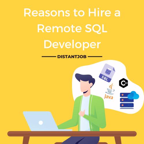 reasons to hire a SQL developer