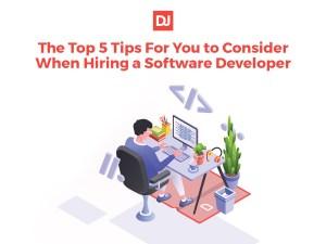 hiring a software developer