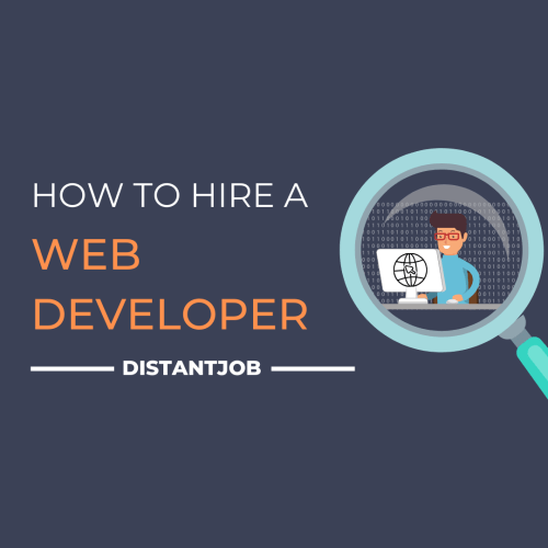 How to hire a web developer
