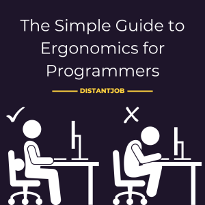 the simple guide to ergonomics for programmers