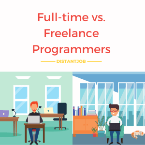 Full-time vs. freelance programmers