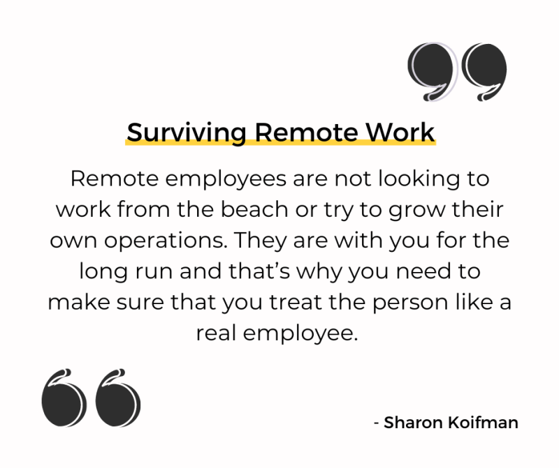 Surviving Remote Work quote