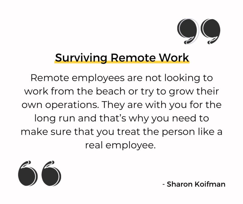 Surviving Remote Work quote
