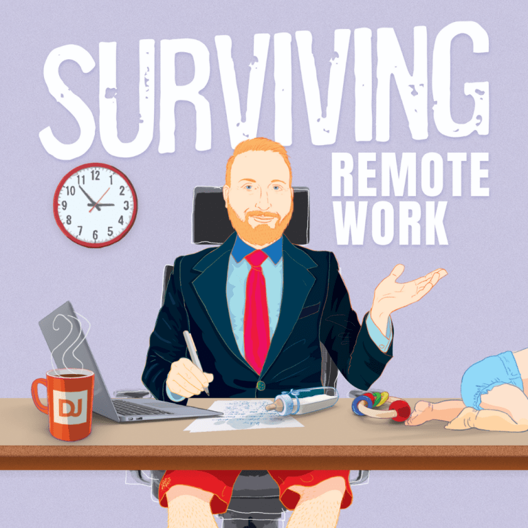 Surviving Remote Work Book Cover