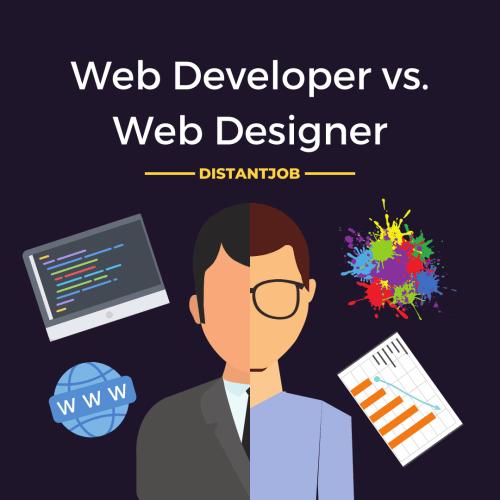 web developer vs. web designer