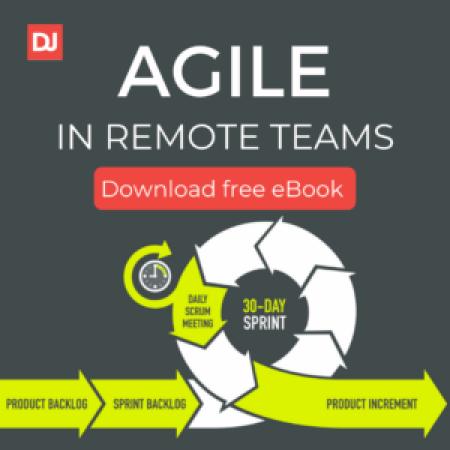 Agile in remote teams free ebook