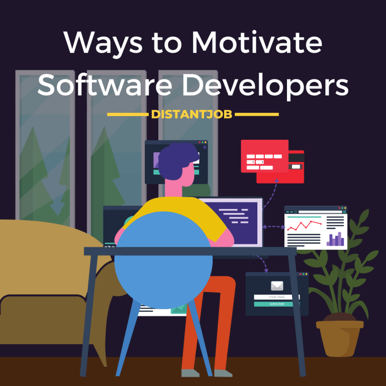 Ways to motivate software developers