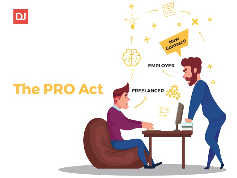 an employer and worker discuss new pro act impact on businesses