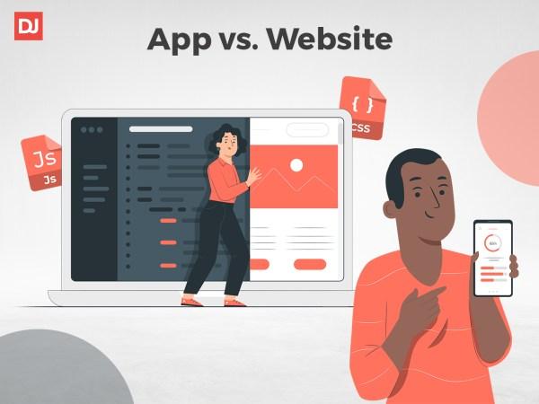 app vs. website