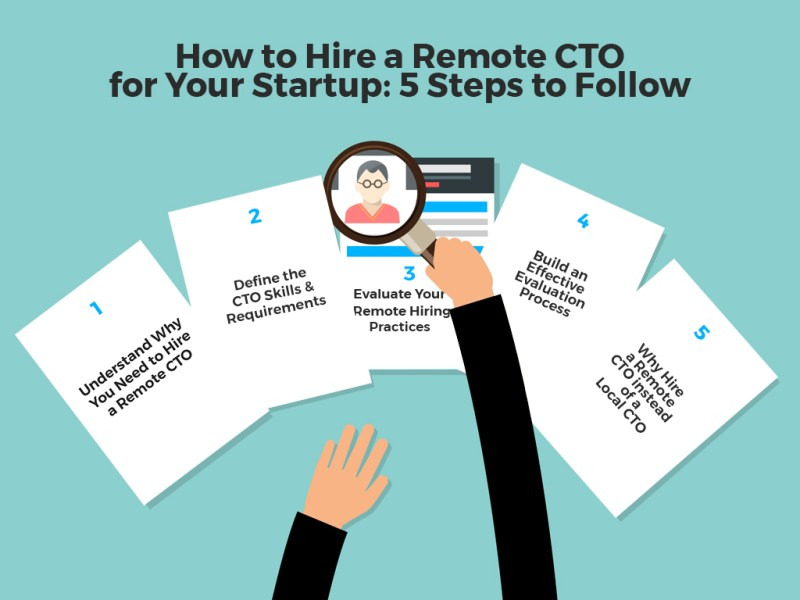 5 steps to hire a remote CTO