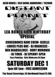 Distant Planet at The Royal Sovereign Dec 2012