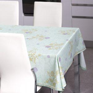 Tessuti tovaglia tavolo rotondo (pagata 390,000l). Copritavolo Bassetti Granfoulard Linea Dhambad Tavola Creativa
