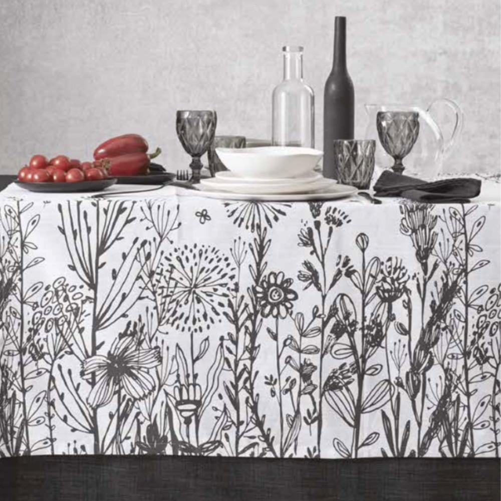 tovaglie da tavola colorate per tutti i gusti. Tovaglia You Me By Maison Sucree Tovaglie Moderne Misto Lino