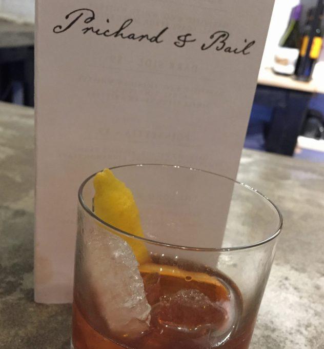 Prichard and Bail cocktail bar