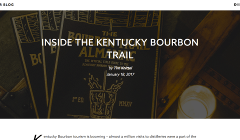 Inside the Kentucky Bourbon Trail at Distiller.com