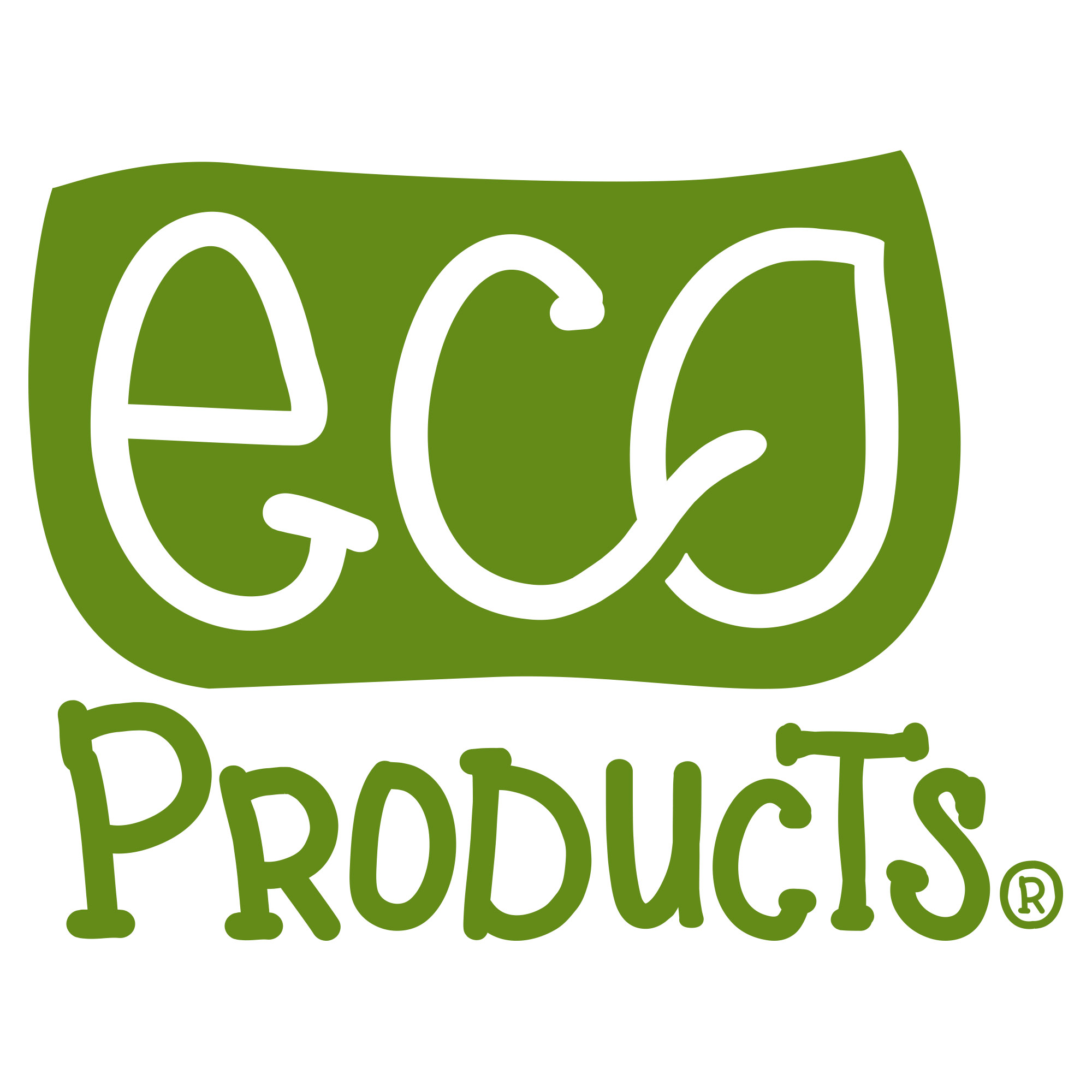 Eco Products Kids Logo Distilled Art Design