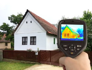 Heat Loss Detection of the House With Infrared Thermal Camera