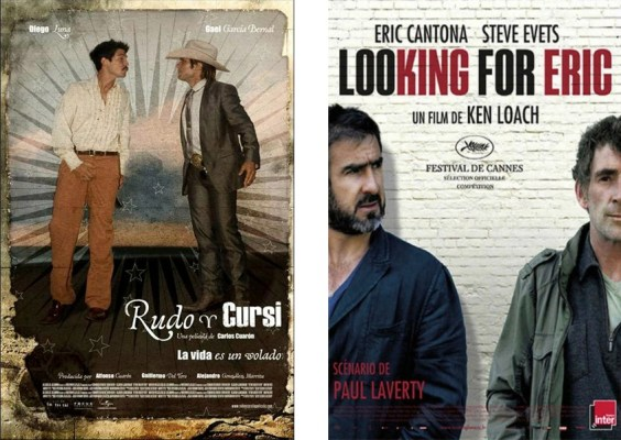 rudo y cursi + looking for eric (posters)