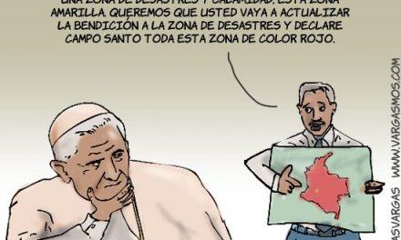 ¿El Papa en Colombia?