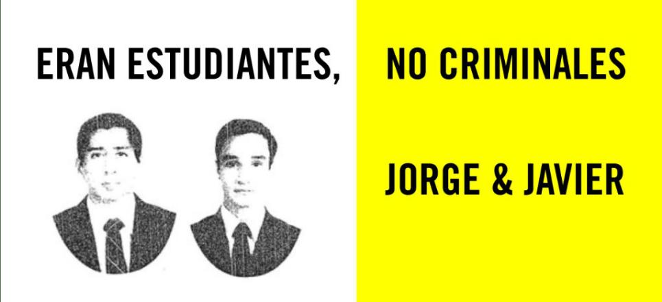 Jorge y Javier: a 6 años de su asesinato a manos de militares, ni una disculpa