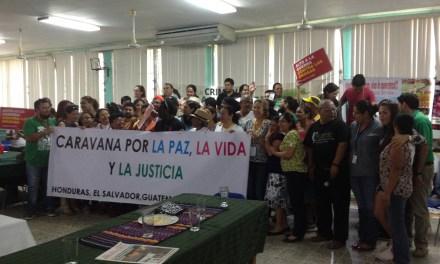 Víctimas de la guerra contra las drogas marchan de Honduras a Estados Unidos