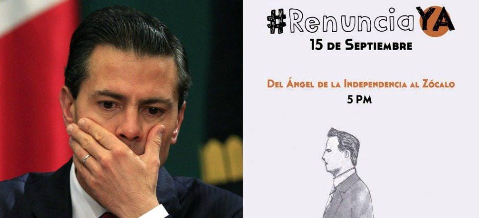 6 motivos por los que los mexicanos quieren la renuncia de Enrique Peña Nieto