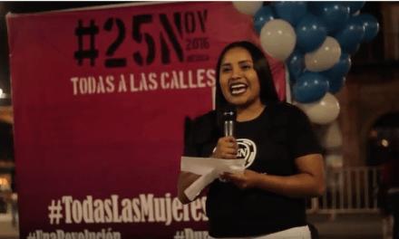 Mujeres de Durango protestan contra la violencia de género