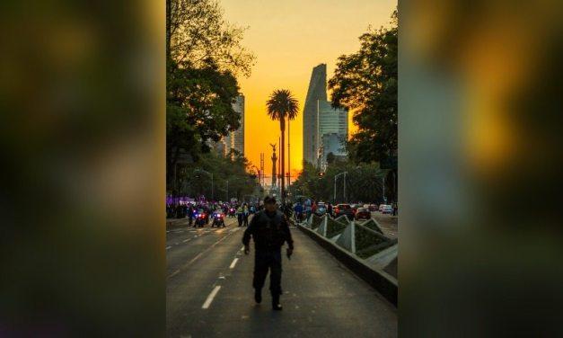 """""""Ni una asesinada más"""": así fue el 25N en la CDMX"""