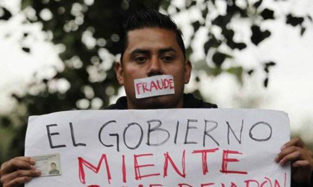 Los mexicanos desconfían y sus gobiernos les mienten