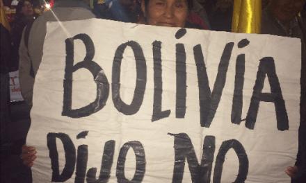 Bolivia y el #21F: entre la mentira y el olvido
