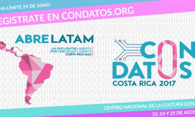 AbreLatam-ConDatos 2017 abordará el lento avance de Centroamérica en datos abiertos