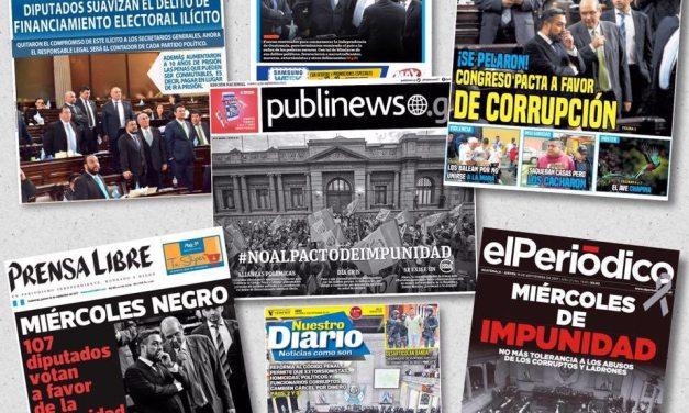 Congreso de Guatemala pasa leyes express que benefician a pandilleros, narcos y políticos corruptos