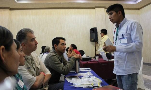 El método de la bolsa dividida, una sesión con gestores comunitarios del agua