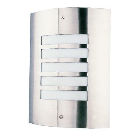Applique pour l'éclairage extérieur en façade matière acier inoxydable