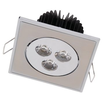 Spot LED downlight 3W carré
