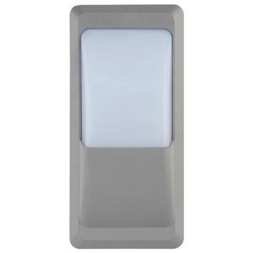 hublot extérieur gris rectangulaire 12w
