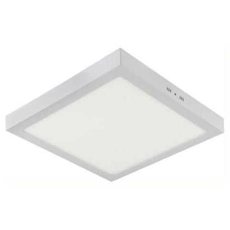 Plafonnier LED saillie carré blanc 28W (Eq. 224W) 6000K Dim. 283x28mm