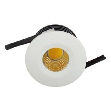 Mini spot LED encastrable rond EVA-1