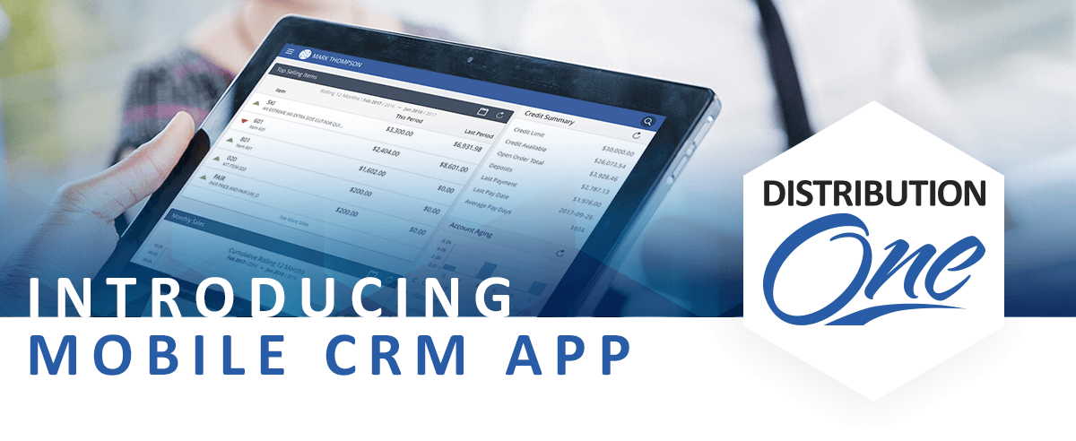 crm mobile app distribution one