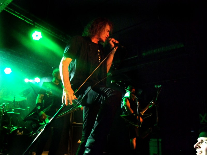 Bobby Blitz and Overkill live @ Sound Control Manchester. Photo Credit: James Weaver