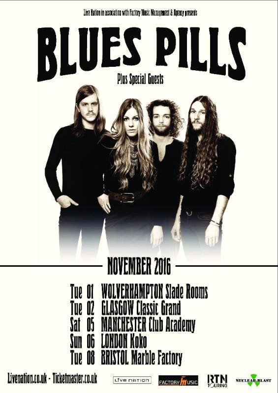 Blues Pills Tour Poster 2016