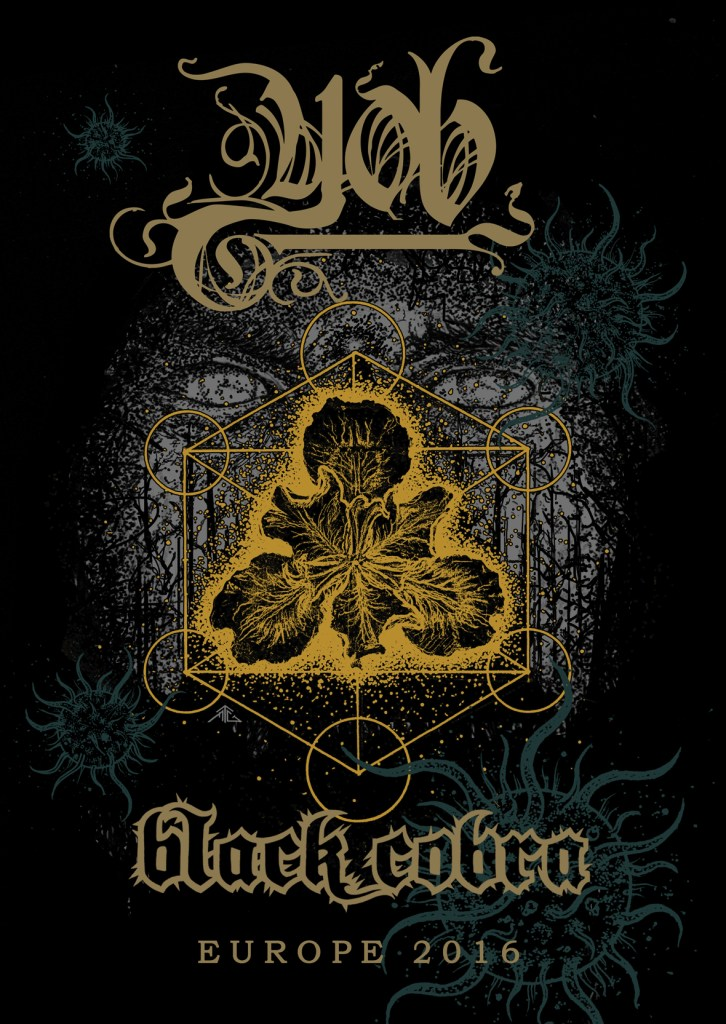 Yob and Black Cobra European Tour
