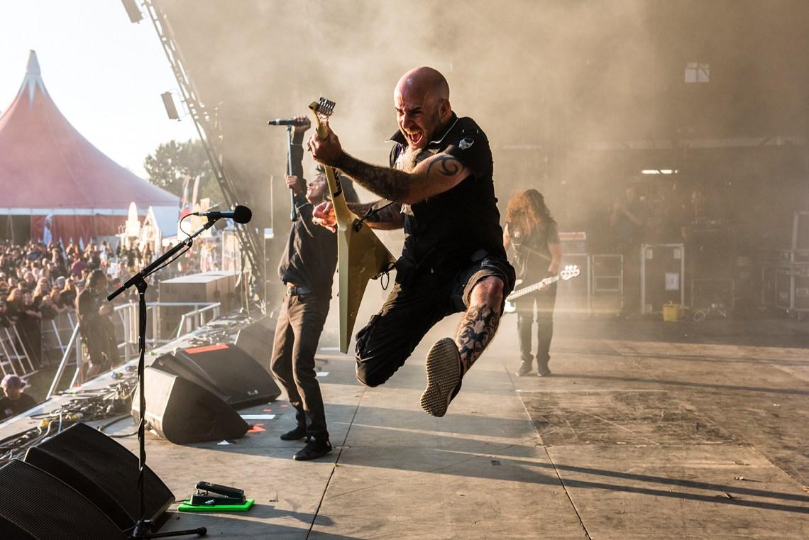 Anthrax live at Bloodstock Festival 2016. Photo Credit: Sabrina Ramdoyal