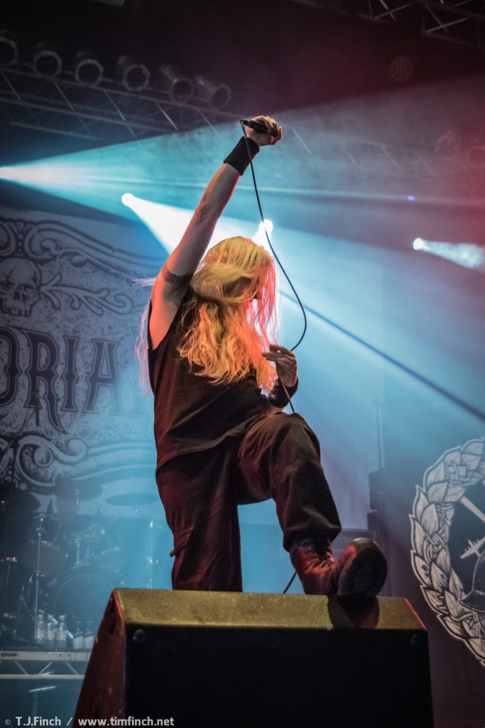 Memoriam live at Bloodstock Festival 2016. Photo Credit: Tim Finch