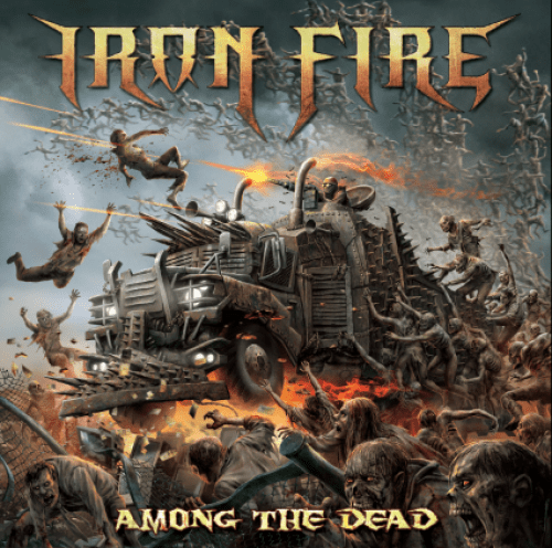 Among The Dead - Iron Fire