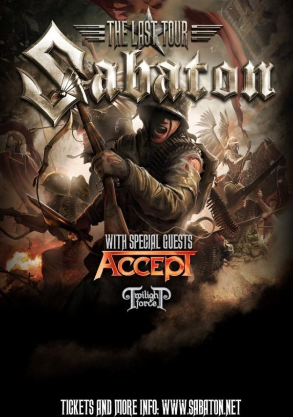 Sabaton, Accept, Twilight Force Tour