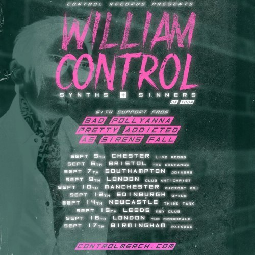 William Control tour dates