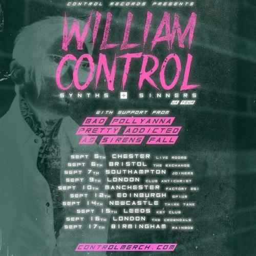 William Control tour dates