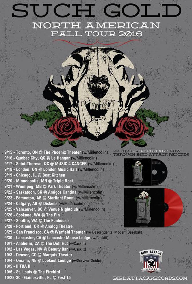 Such Gold US tour